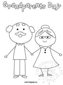 coloring pages for grandparents day grandparent s day coloring page