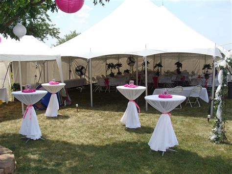 graduation tent decorating ideas   wedding tent pole