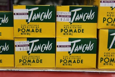 Tancho Pomade Malaysia things from the bygone sixties and seventies cy cy says