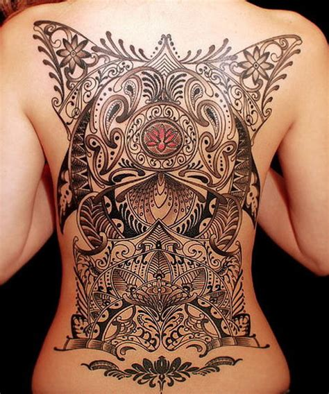 tattoo at back design best 2015 women tattoos women styler