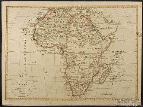africa map vintage charte africa geographisches institut weimar africa