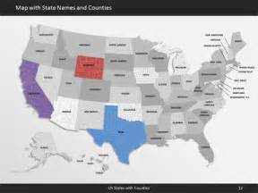 us map editable free editable usa state map