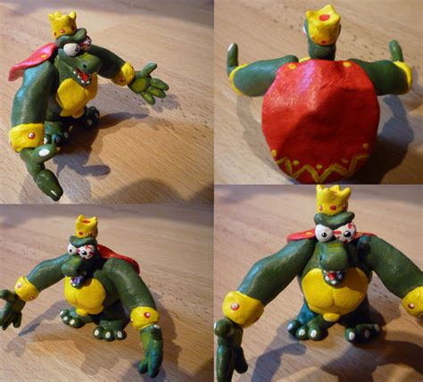 king k rool figure king k rool figurine by jelle c on deviantart