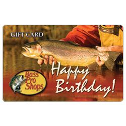 Bass Pro Gift Cards Online - bass pro traditional happy birthday gift card findgift com