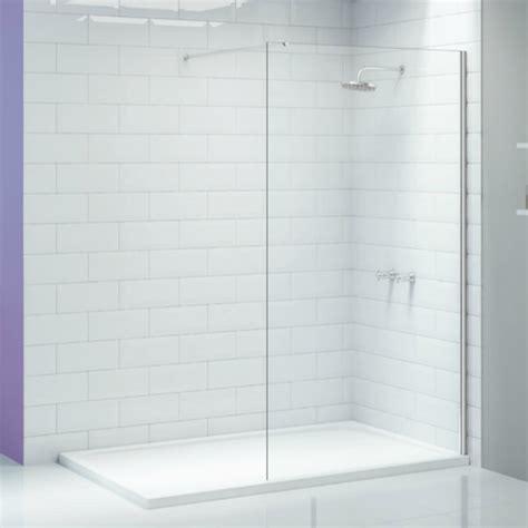 Bathroom Wall Enclosures Merlyn Ionic Wetroom 700mm Walk In Wall Shower Enclosure