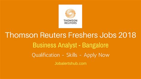 analog layout jobs in bangalore for freshers thomas reuters freshers jobs in bangalore 2018 business