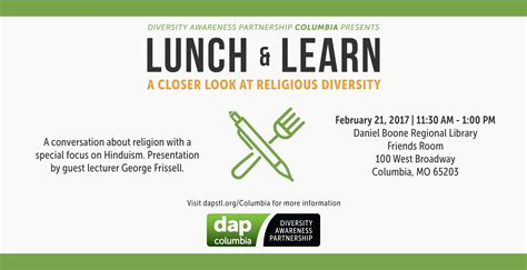 Columbia Mba Diversity Events by Columbia Lunch Learn A Closer Look At Religious