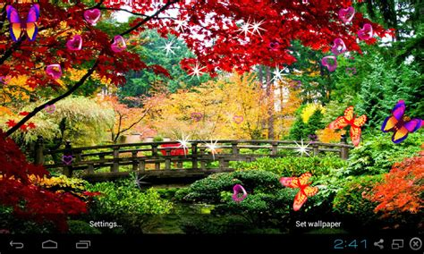 Free 3D Garden Live Wallpaper APK Download For Android