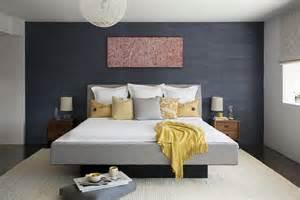 d 233 coration chambre avec murs gris fonc 233 s