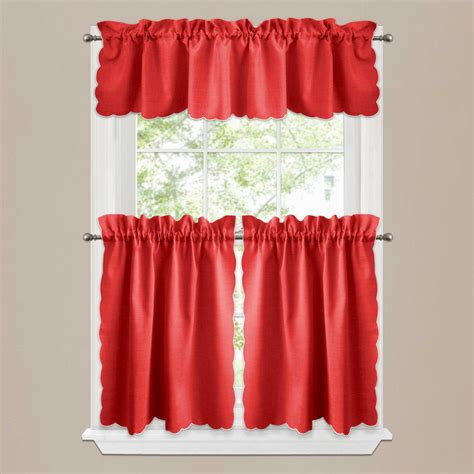Curtain Valances For Kitchens Modern Kitchen Curtains Quicua