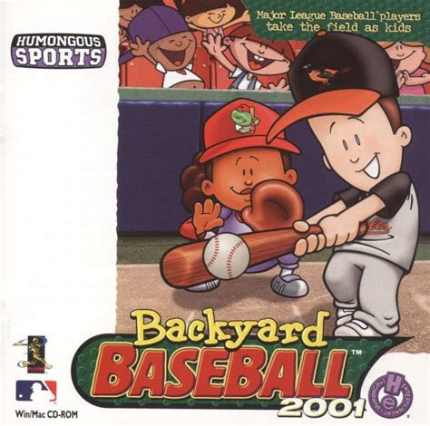 Backyard Baseball World Series Backyard Baseball 2001 2000 Macintosh Box Cover