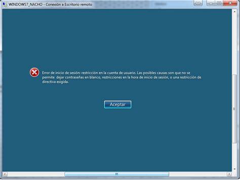 escritorio remoto windows 7 inform 225 tica pr 225 ctica helpdesk y algo de traducci 243 n
