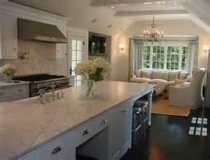 Kitchen Sitting Room Ideas Open Floor Plan Kitchen Traditional Kitchen West End