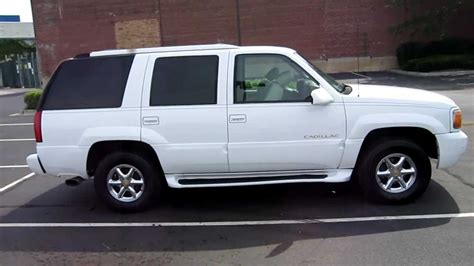 1999 cadillac escalade for sale chicago clean white 99 2000 2001 youtube