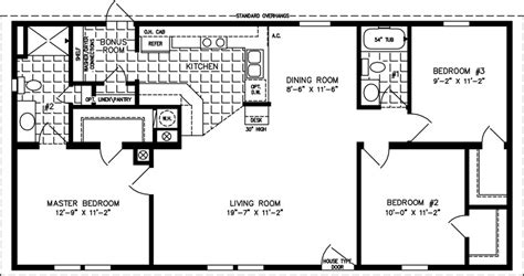 the tnr 4489a manufactured home floor plan jacobsen homes