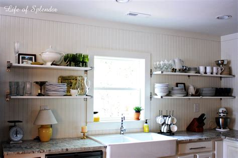 Kitchen Shelves Design Ideas kitchen cozy and chic open shelves kitchen design ideas