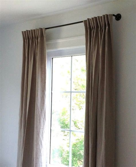 copper pipe curtain rod diy the copper pipe curtain rod for 35 by