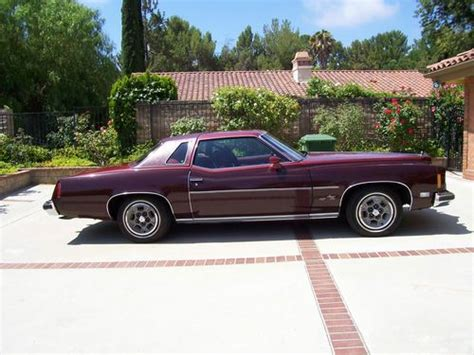 sell used 1975 pontiac grand prix lj coupe 2 door 6 6l in canoga park california united states