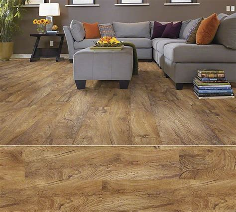 Shaw Array resilient plank in style Sumter Plank color