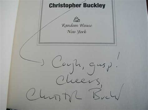 Novel Thank You For By Christopher Buckley edition criteria and points to identify thank you for by christopher buckley