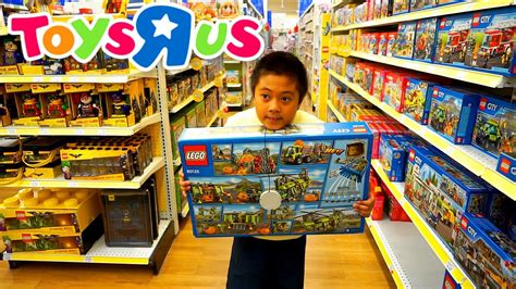 toys quot r quot us shopping for lego jason wants it all