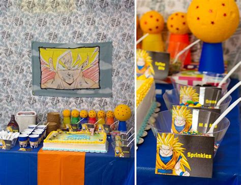 party themes a z birthday quot dragon ball z birthday quot catch my party