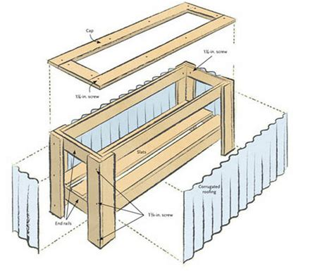 vegetable garden planter box plans best wood for planter boxes how to make wooden planter