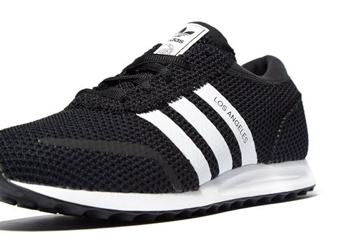Adidas Los Angeles Trefoil White Originals lyst adidas originals los angeles ck in black for