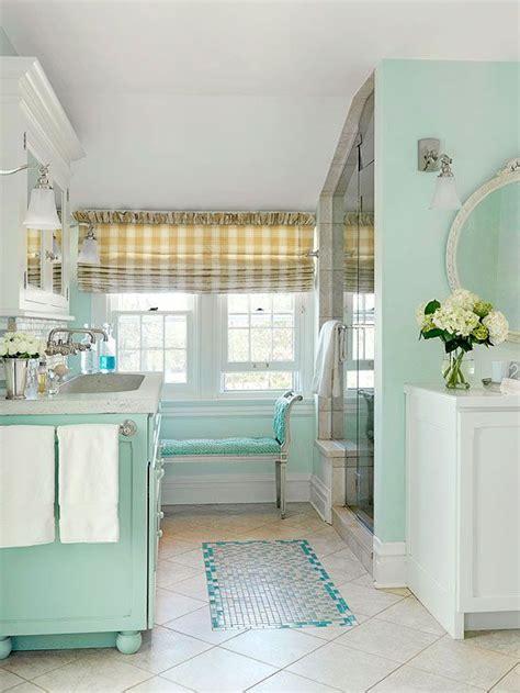 color combo in white bathroom ideas beautiful homes design une salle de bain au style cottage bricobistro