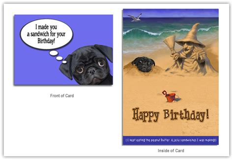 pug card printable pug cards more print from anywhere just grab it