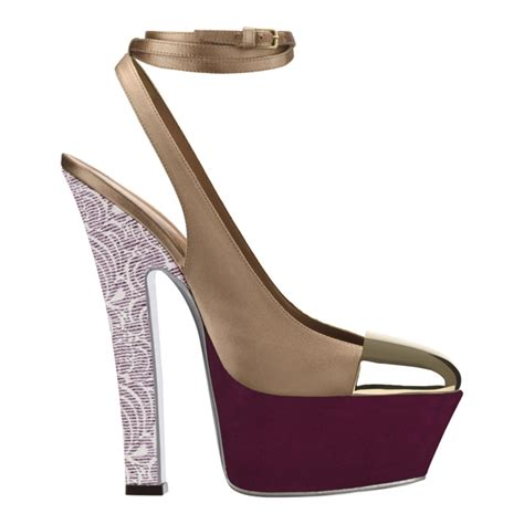 Ysl Heels by Graphic Prints Ysl Summer 2012 Shoes Shoera