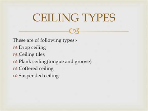 Types Of Drop Ceilings by Wooden False Ciling