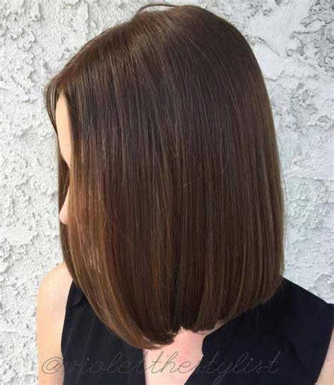 blunt sleek bob 20 great short blunt haircuts short hairstyles 2017