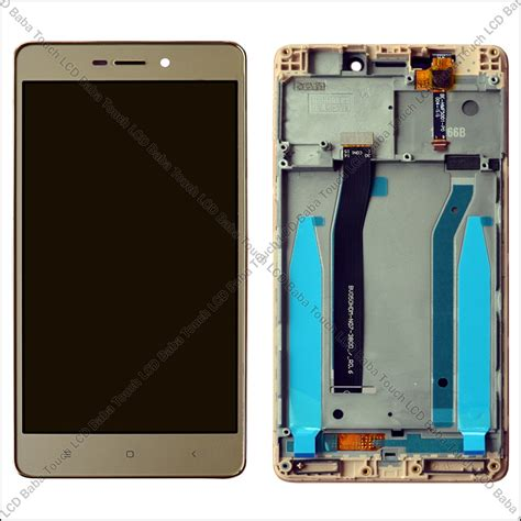 Touchscreen Xiaomi Redmi 3 Redmi 3s xiaomi redmi 3s prime display and touch screen with frame touch lcd baba
