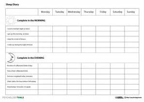 sleep diary template sleeping diary for me so i can go to bed and up at a