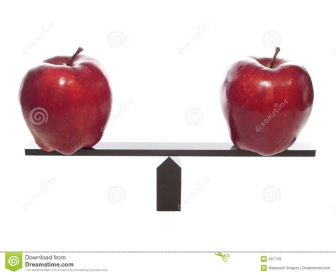 Apple To Apple | comparing apples to apples metaphor stock image image of