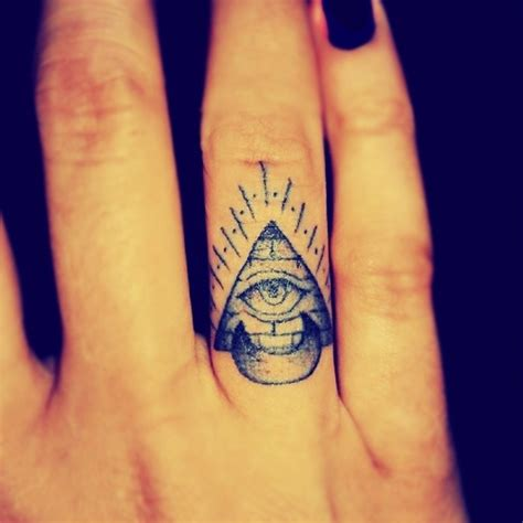 finger tattoo eye meaning 35 incredible pyramid tattoos