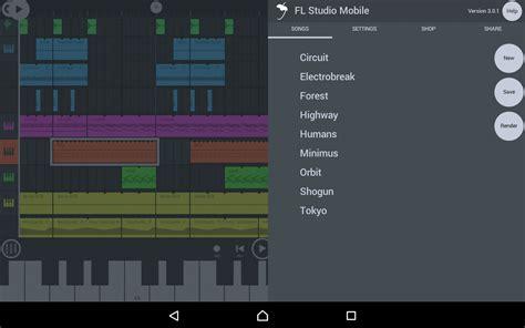 fl studio mobile gratis descargar fl studio mobile 3 1 88b android gratis