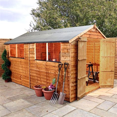 mercia overlap shed       elbec garden