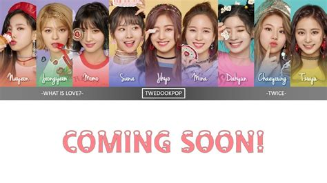 twice what is love lyric teaser twice what is love lyrics han rom eng color
