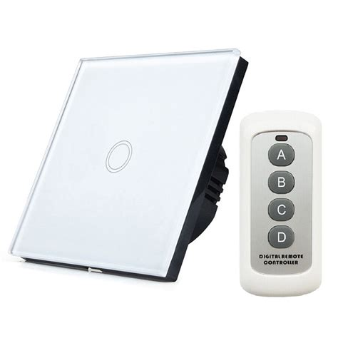 new smart home automation touch switch eu standard wifi
