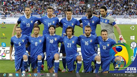 2014 fifa world cup soccer players with the craziest download gratis tema windows 7 italy national football