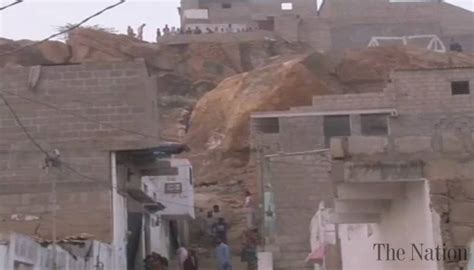 On The Town Nation 5 by Landslide On Baldia Town House Kills 5 In Karachi