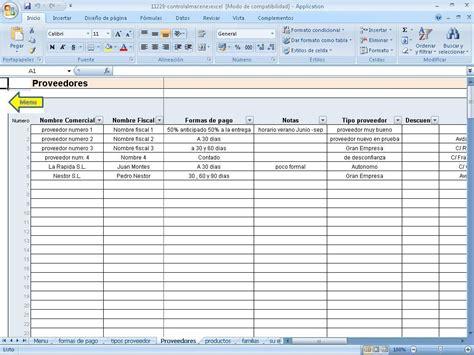 descargar control almacen en excel en portalprogramas descargar control varios almacenes excel gratis en espa 241 ol