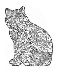 cat coloring pages for adults 146 best images about arte terapia on dovers