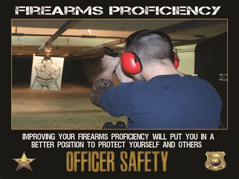 Officer Safety by Officer Safety Motivation Poster Firearms Proficiency 24