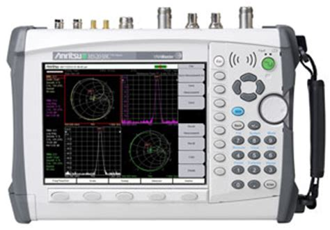 Maury Tunik Set vna master spectrum analyzer ms2038c