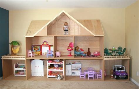 home made doll house homemade ag dollhouse american girl doll crafts ideas accessories love
