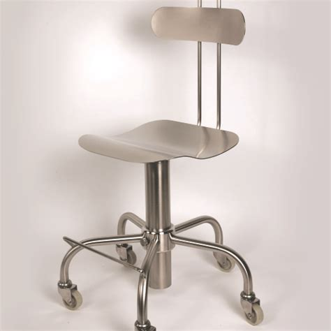 Stainless Steel Stools For Cleanroom by Cleanroom Furniture Ab Scientific Ltd