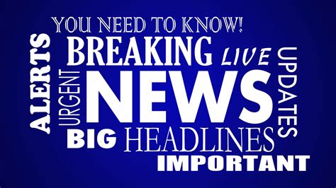 The Press The Tech Headlines Shiny Shiny 8 by Breaking News Headlines Word Collage Animation Motion